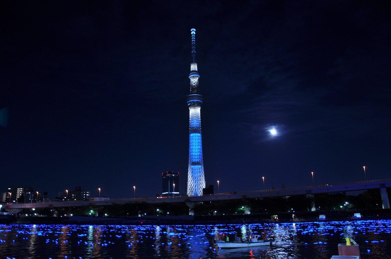 Очень остался доволен прелестями Японии. Skytree