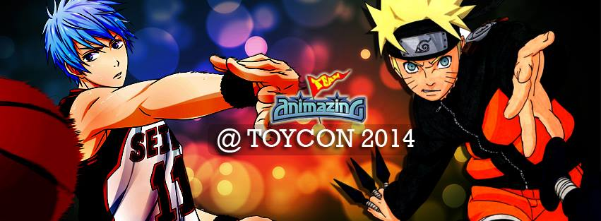 ABS-CBN Team Animazing at TOYCON 2014