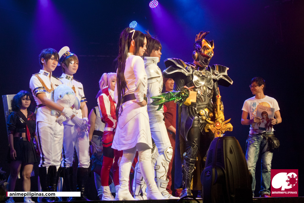 """""""Team Kanor Cubes"""" of The Philippines, the 2nd Place winner of AFA2014 Asian Regional Cosplay Championship. (Photo by JM Melegrito)"""