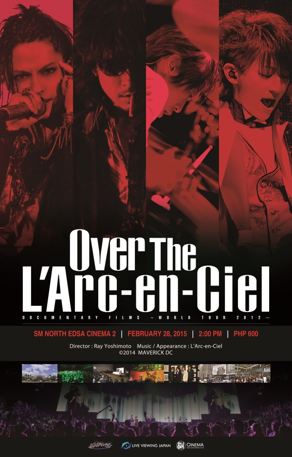 Over the LArc~en~Ciel