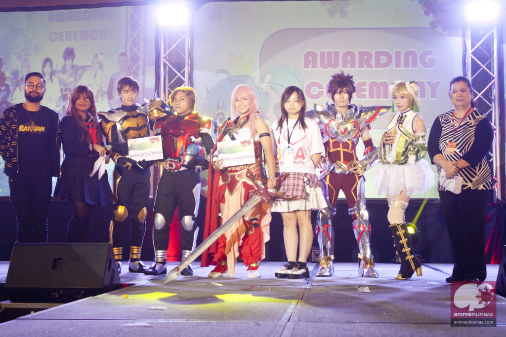 The two representatives of the National Capital Region for the World Cosplay Summit Philippines 2016 during The Best of Anime 2015. (Photo from JM Melegrito / Anime Pilipinas)