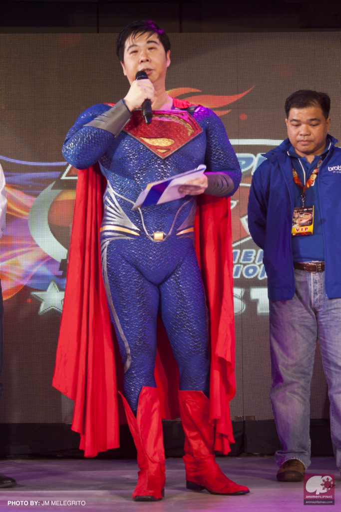 Cosplay.ph President Pablo Bairan. (Photo from JM Melegrito / Anime Pilipinas)