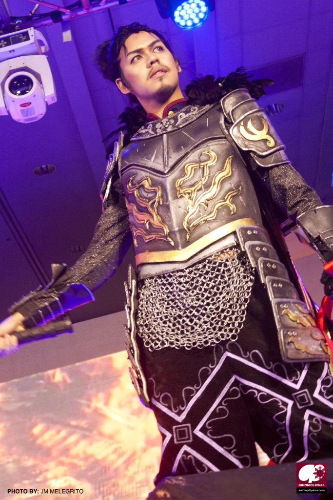 Steven Vivero as Oda Nobunaga of Samurai Warriors. (Photo from JM Melegrito / Anime Pilipinas)