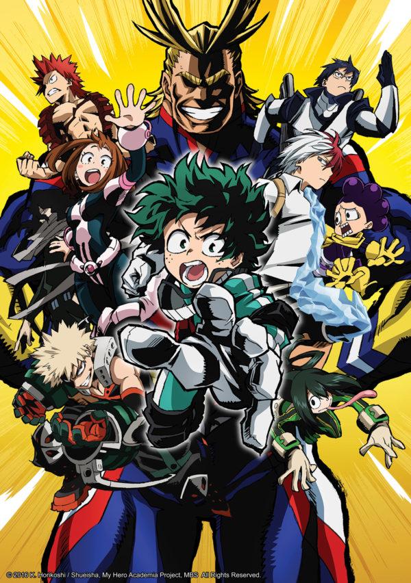 ©2016 K. Horikoshi / Shueisha, My Hero Academia, MBS All Rights Reserved.