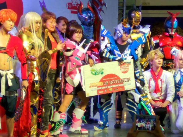 "World Cosplay Summit 2016 Philippine representatives ""Team Starseeker"", portraying characters from the online game Phantasy Star Online (Photo from Rico Zale / Facebook)"