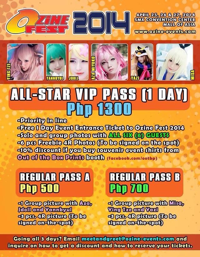 VIP & Regular Passes