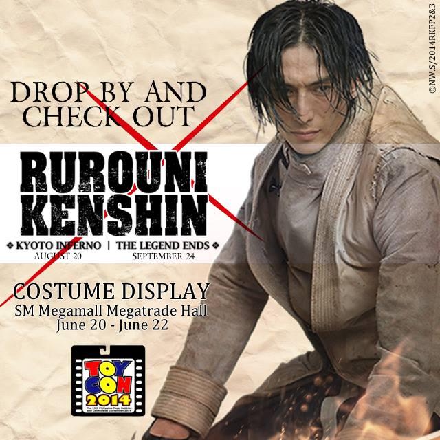 Rurouni Kenshin - Costume Display