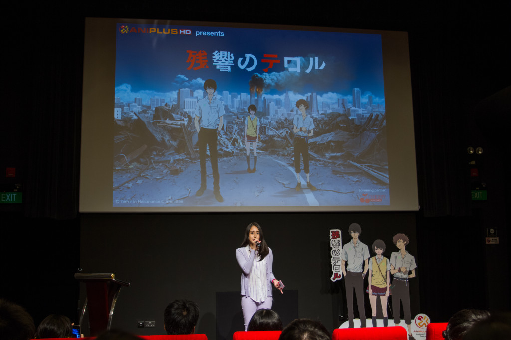 Before the screening. (Photo provided by ANIPLUS Asia)