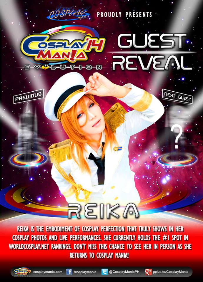 Cosplay Mania '14 Guest: REIKA