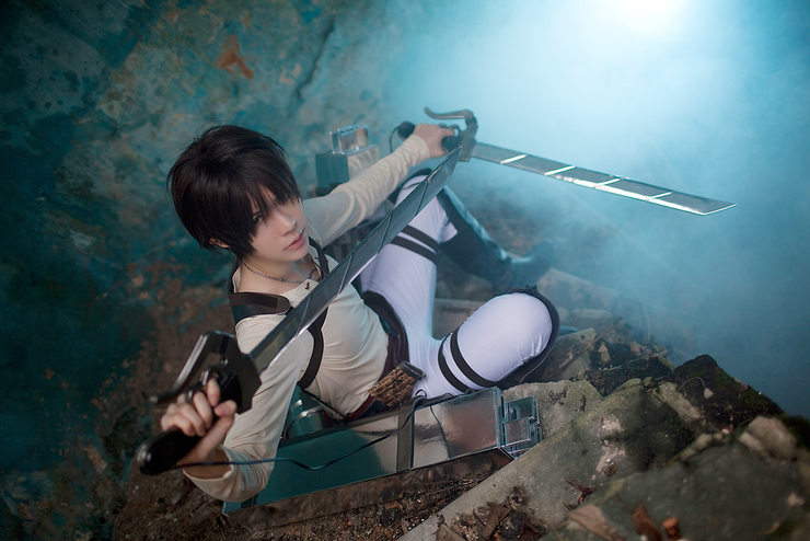 Thai cosplayer Onnies as Eren Jagger from the highly-popular series Attack on Titan. (Photo from WorldCosplay.net)