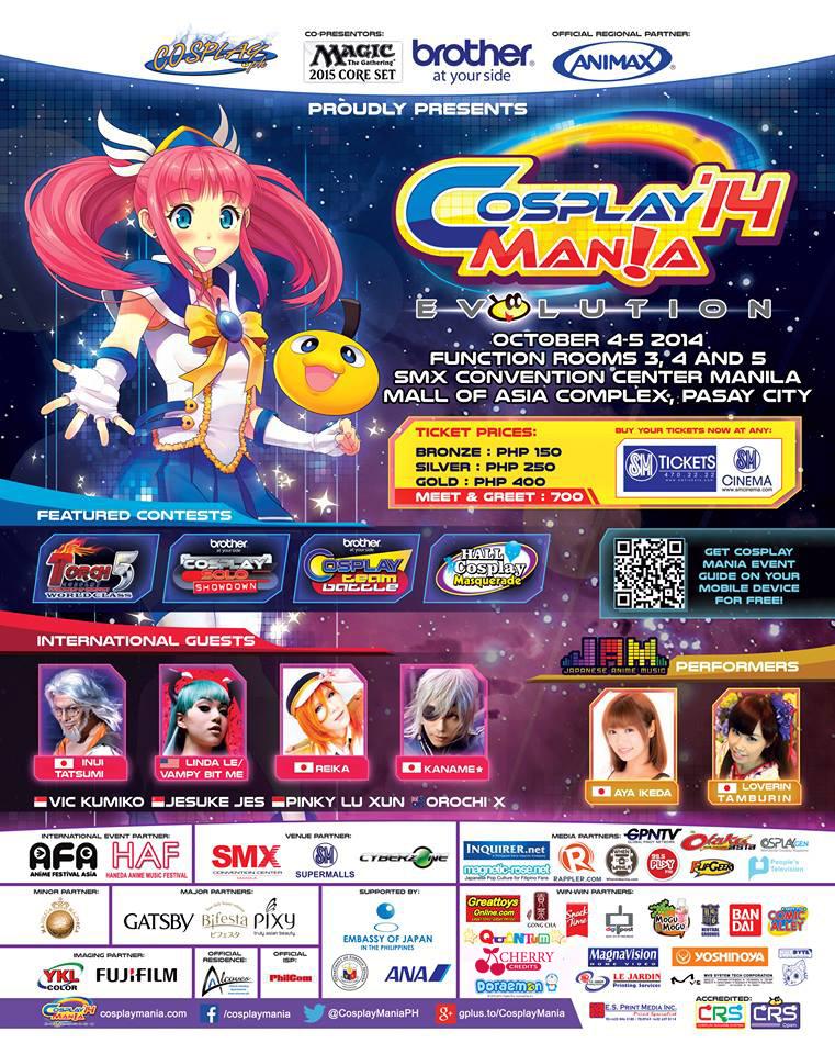 Cosplay Manila: Evolution