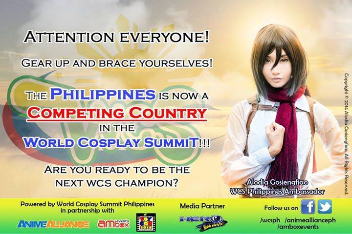Photo from World Cosplay Summit Philippines' Facebook page
