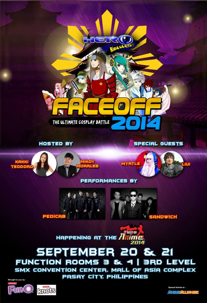 HERO Face Off on The Best of Anime 2014