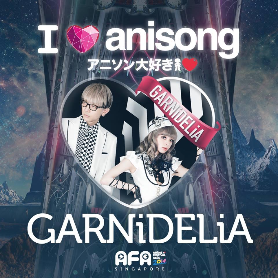 AFA2014: I LOVE ANISONG - GARNiDELiA