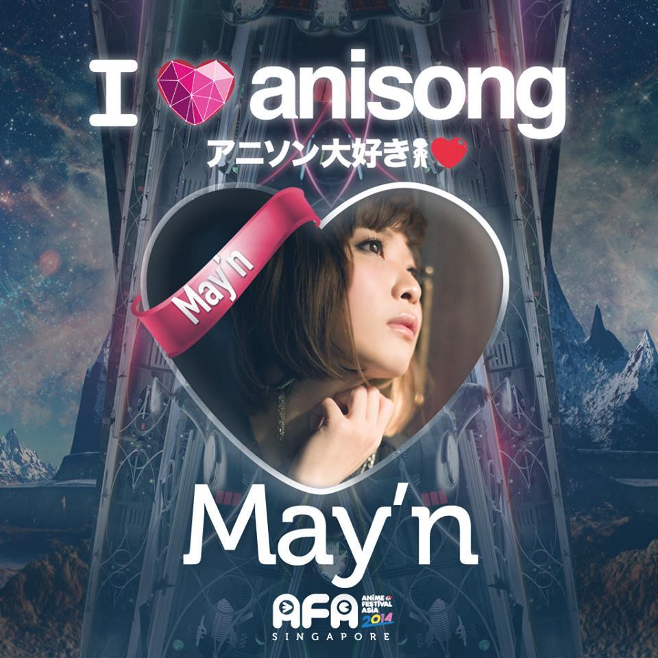 AFA2014: I LOVE ANISONG - May'n
