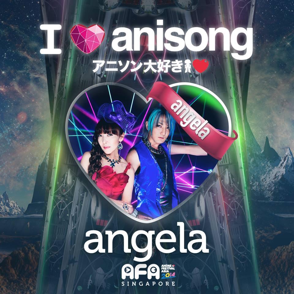 AFA2014: I LOVE ANISONG - angela