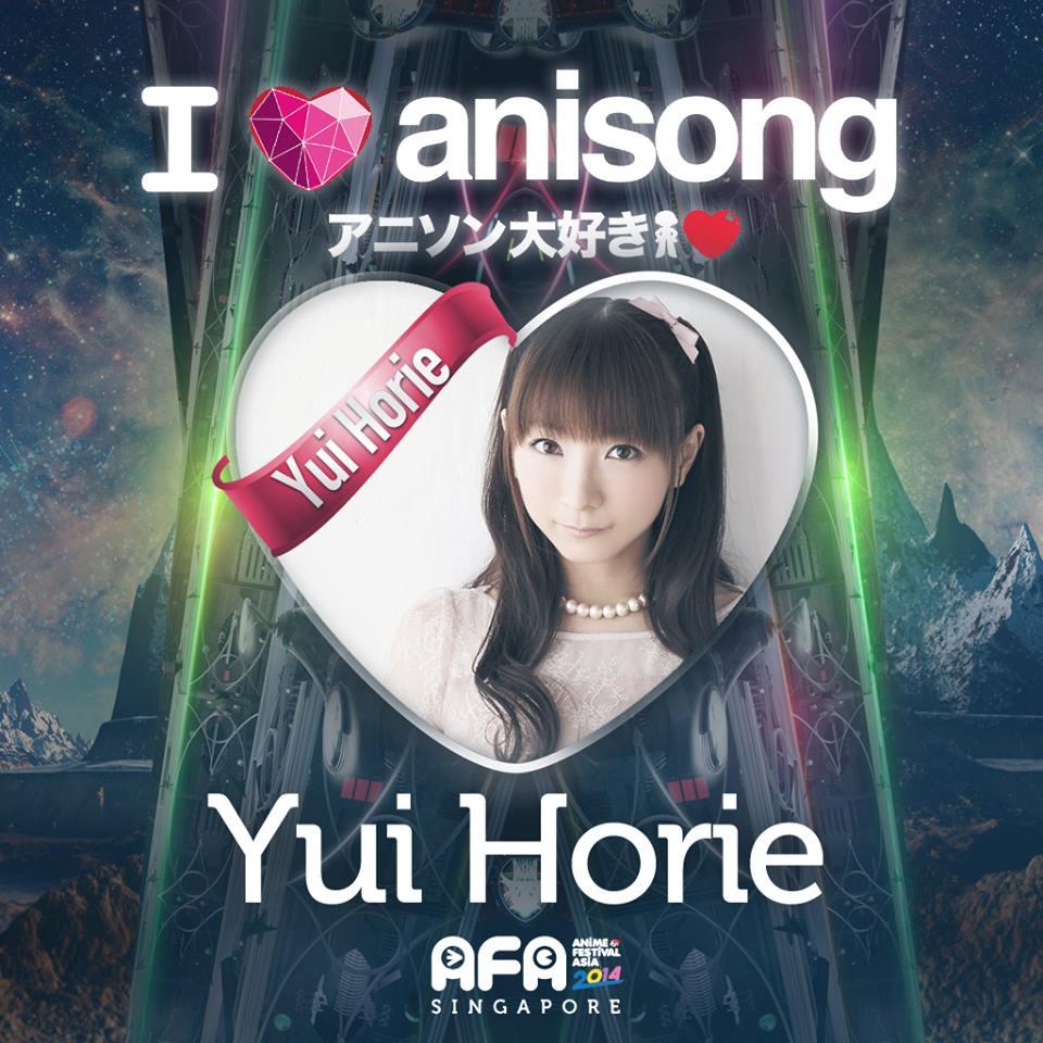 AFA2014: I LOVE ANISONG - Yui Horie