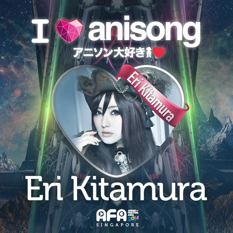 AFA2014: I LOVE ANISONG - Eri Kitamura