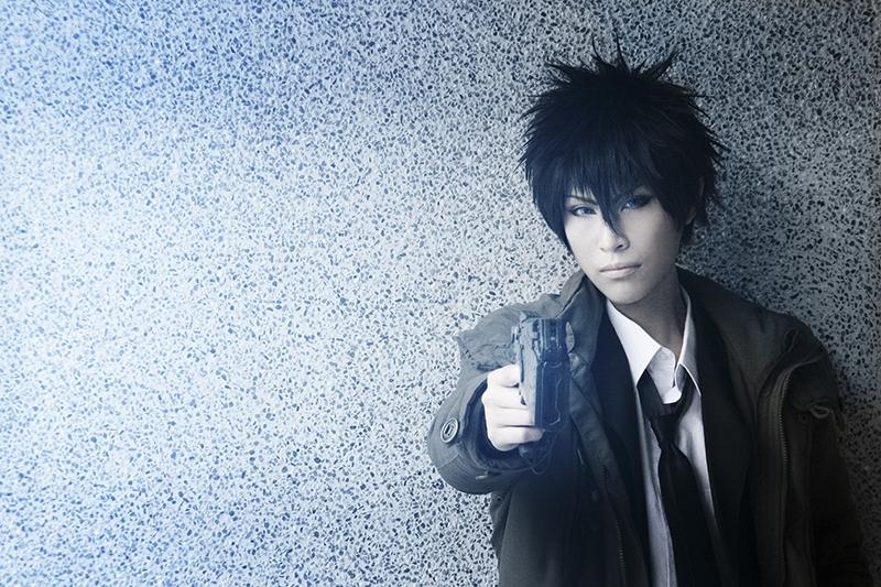 Akatsuki Tsukasa as Shinya Kogami of Psycho-Pass. (Photo from WorldCosplay.net)