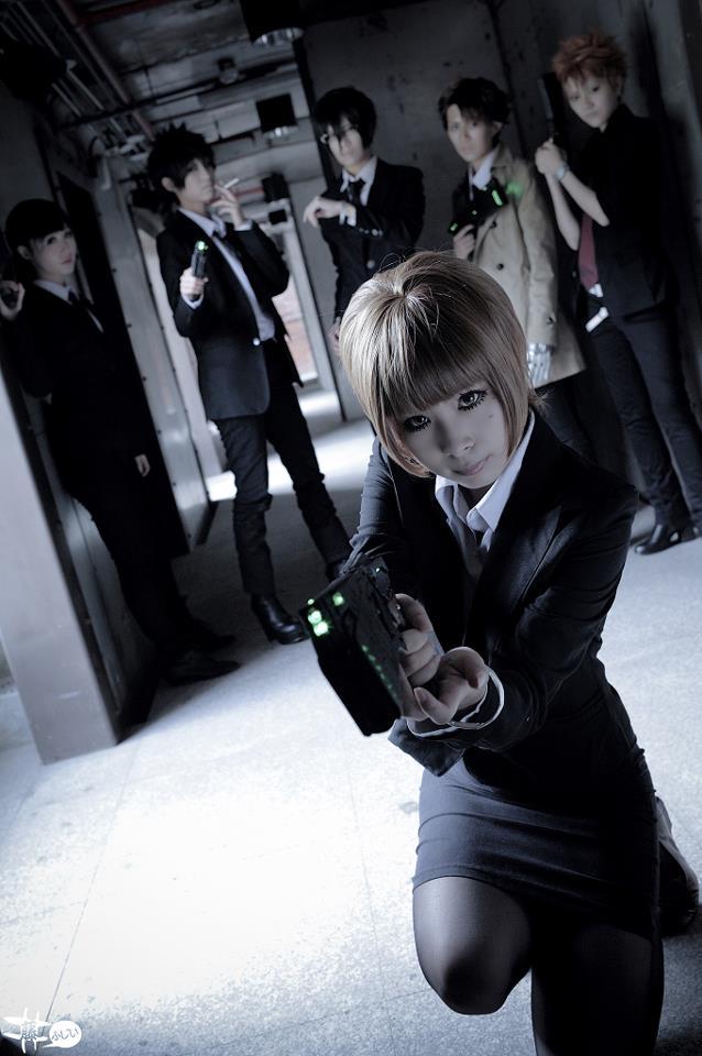 Judy as Akane Tsunemori of Psycho-Pass. (Photo from Judy's Facebook page)