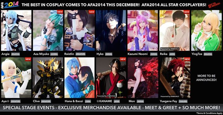 Photo from Anime Festival Asia's Facebook page