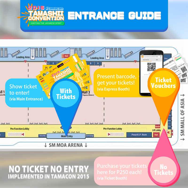 TAMASHII CONVENTION 2015 - Tickets