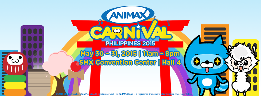 © 2015 SPE Networks - Asia Pte. Ltd. All Rights Reserved. The ANIMAX logo is a trademark of Animation Investments, Inc.