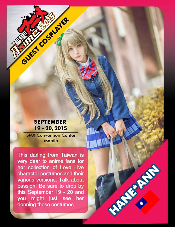 Photo from Best of Anime's Facebook page