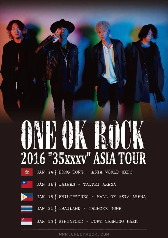 ONE OK ROCK - 2016 35xxxv Asia Tour