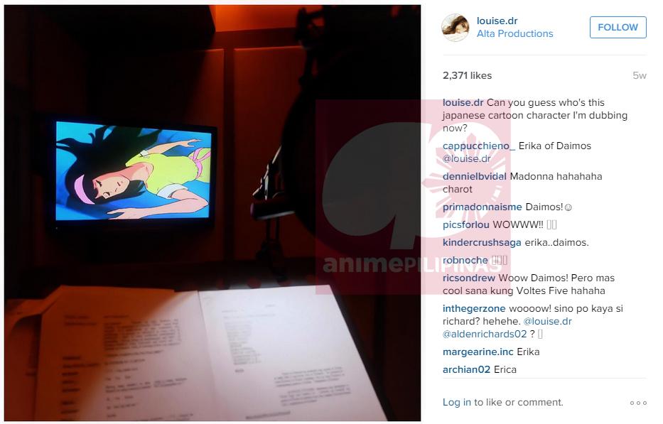 Screengrab from Louise Delos Reyes' Instagram account.