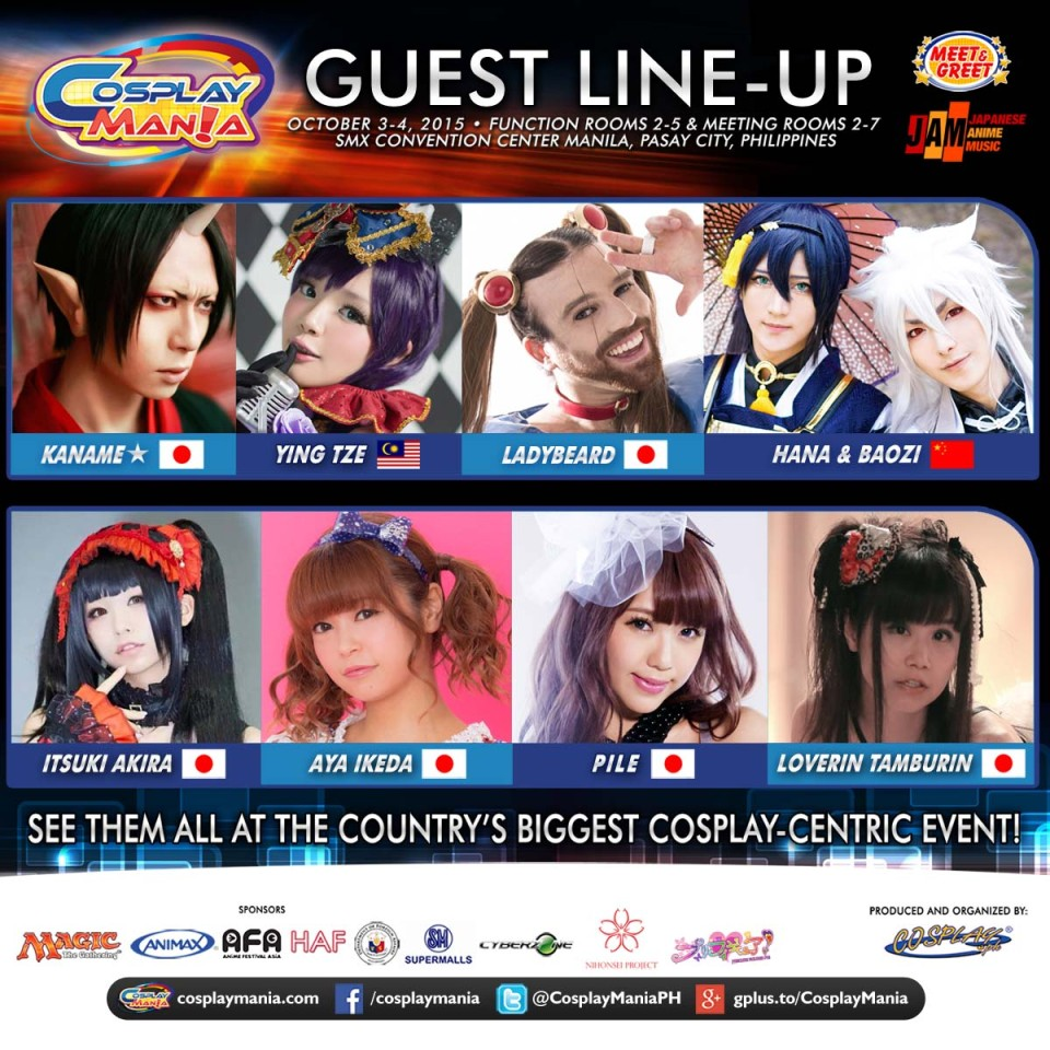Cosplay Mania 15 - Guests