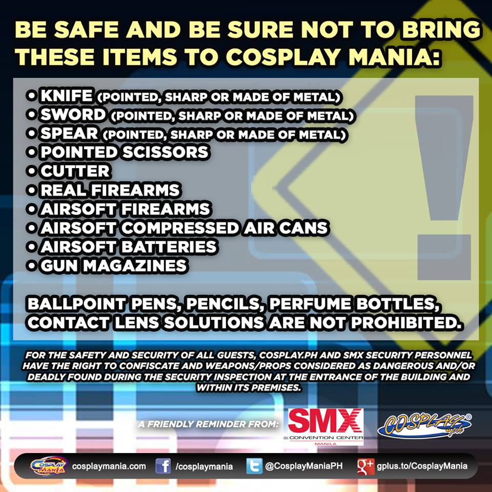 Cosplay Mania 15 - Prohibited Items