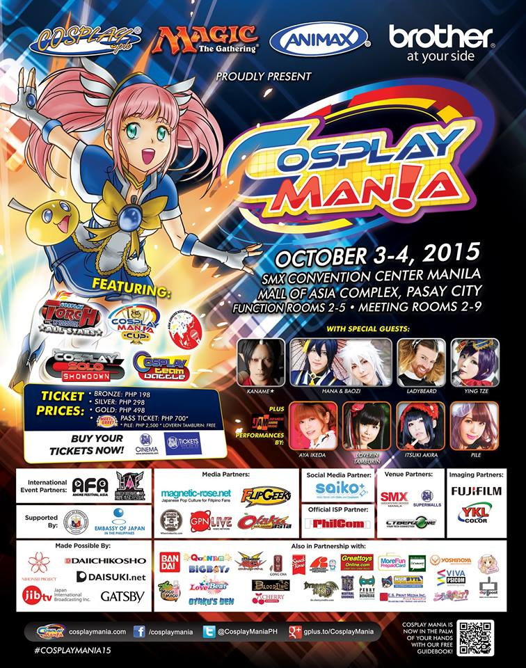 Cosplay Mania 15 - Poster