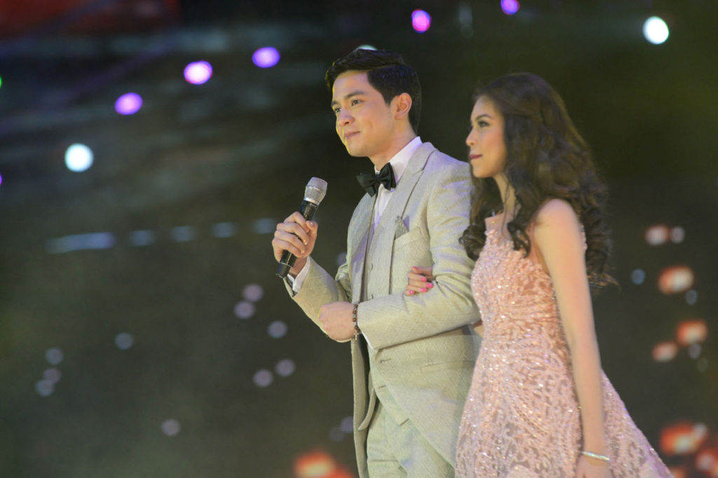 Eat Bulaga's #AlDub tandem, composed of Alden Richards and Maine Mendoza. (Photo from Rappler)
