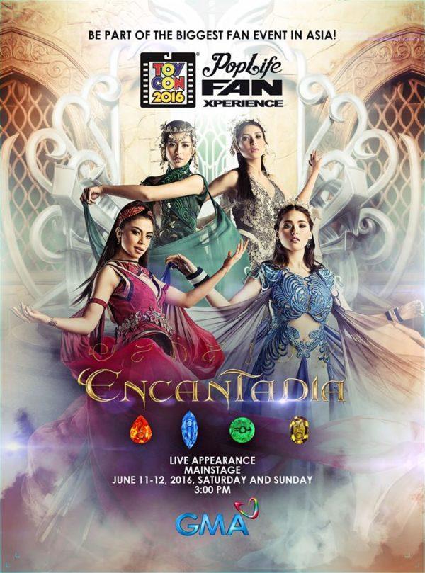 15th Philippine TOYCON + Pop Life FanXperience - Encantadia 2016