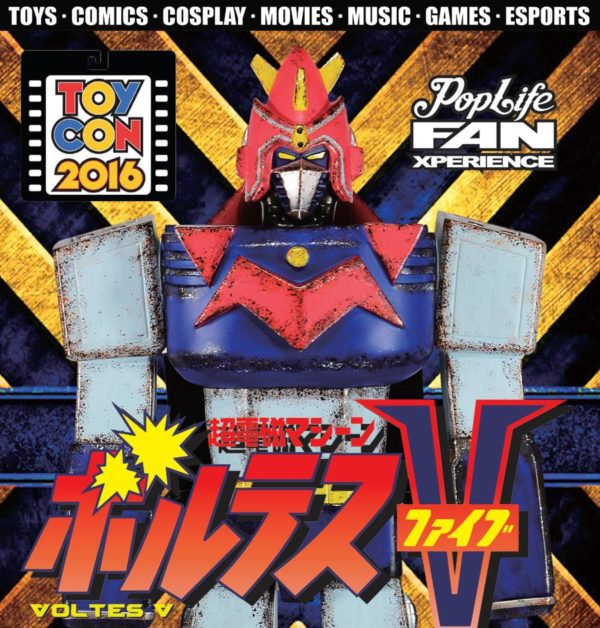 15th Philippine TOYCON + Pop Life FanXperience - Voltes V