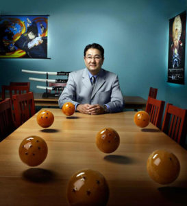Gen Fukunaga, the Chief Executive Officer of Funimation Entertainment. (Photo from thedaoofdragonball.com)