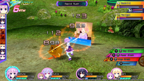 Hyperdimension Neptunia Re;Birth3: V Generation