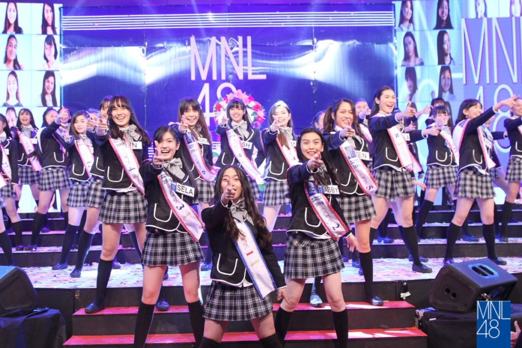 MNL48 hails official First Gen...