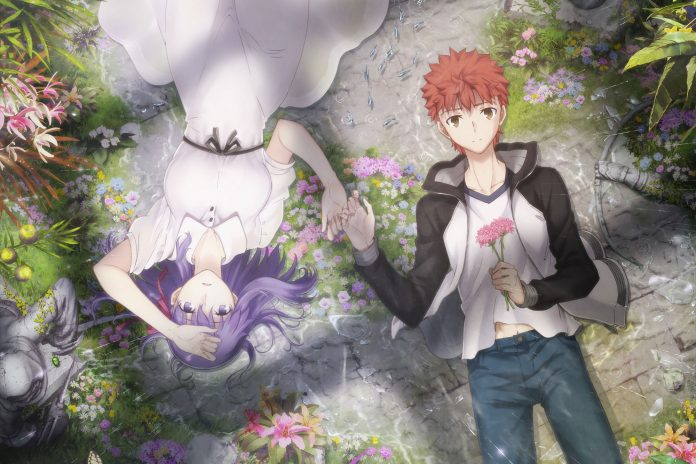 Odex To Screen Second Fate Stay Night Heaven S Feel Anime Film In