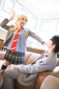 "Singaporean cosplayer REA KAMI portraying ""Kaori Miyazono"" of Your Lie in April. (Photo from WorldCosplay.net)"